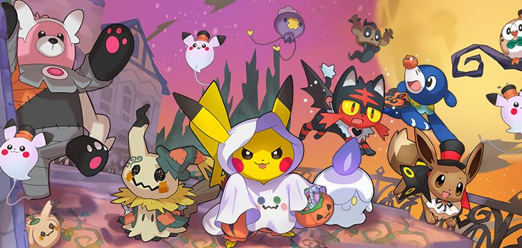 Pokemon Halloween 2017