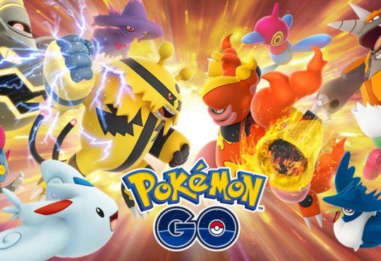 Pokemon Go PVP Trainer Battle